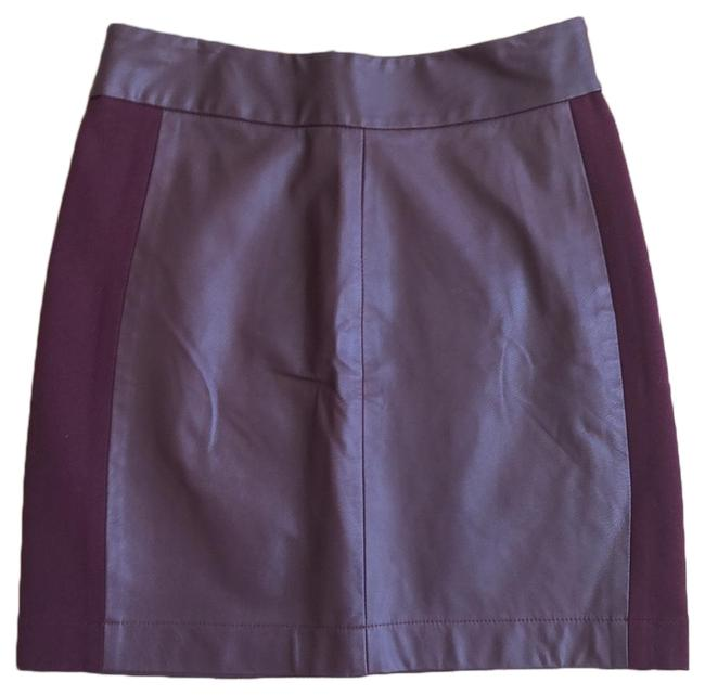 Item - Burgundy Skirt Size 0 (XS, 25)