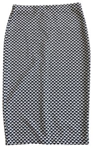H&M Skirt Black/Cream