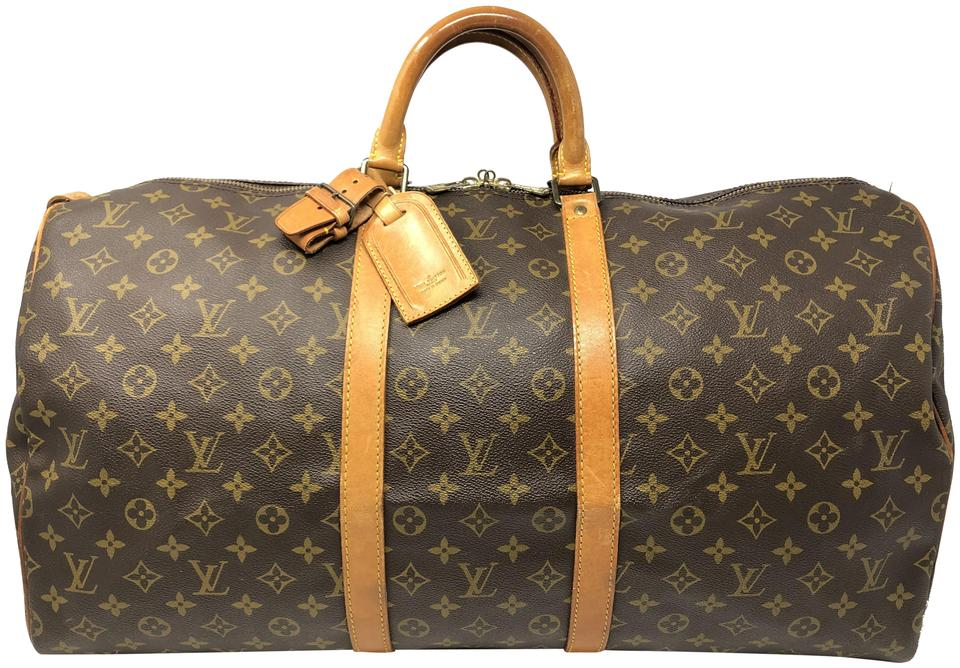 f78ccda0c Louis Vuitton Keepall Keepall 55 Duffle Monogram Travel Bag Image 0 ...