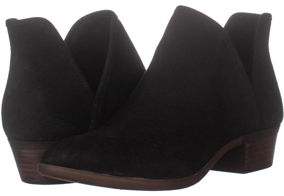 1554cd11a08 Lucky Brand Black Baley Pull On Ankle 979 / 40 Eu Boots/Booties Size US 10  Regular (M, B) 55% off retail