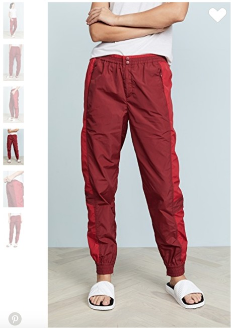 Rebecca Minkoff Athletic Pants Red Image 2