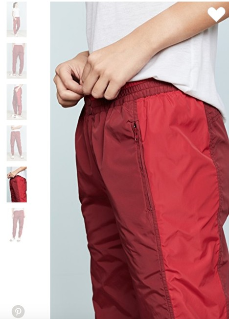 Rebecca Minkoff Athletic Pants Red Image 3