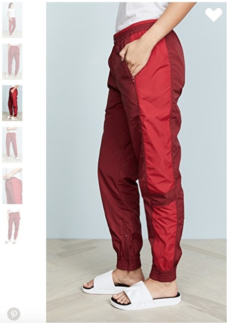 Rebecca Minkoff Athletic Pants Red Image 4