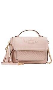 Tory Burch Satchel in Shell Pink