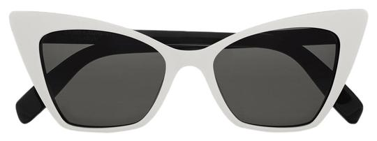 Preload https://img-static.tradesy.com/item/25459571/saint-laurent-white-victoire-sl244-cat-eye-sunglasses-0-1-540-540.jpg