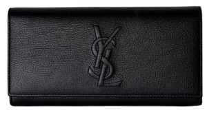 Saint Laurent New Saint Laurent YSL 352905 Leather Belle de Jour Continental Wallet