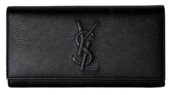 Preload https://img-static.tradesy.com/item/25459767/saint-laurent-black-belle-de-jour-new-ysl-352905-leather-continental-wallet-0-0-540-540.jpg