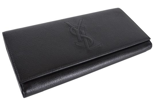Saint Laurent New Saint Laurent YSL 352905 Leather Belle de Jour Continental Wallet Image 3