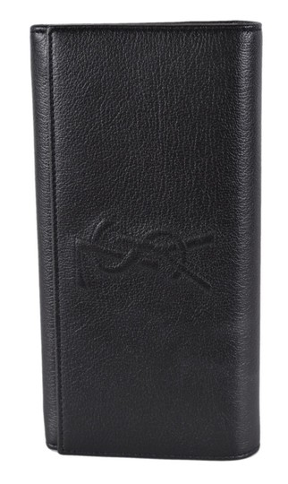 Saint Laurent New Saint Laurent YSL 352905 Leather Belle de Jour Continental Wallet Image 5