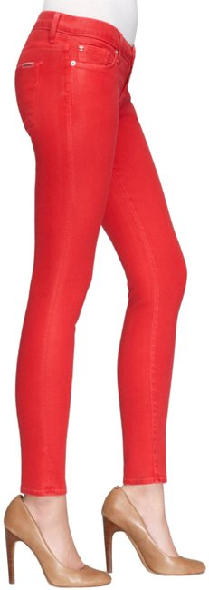 Item - Coral Krista Ankle Super Leg Style No. Nwa407zhe Skinny Jeans Size 30 (6, M)