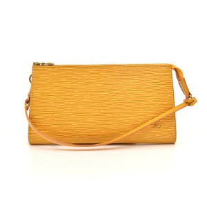 Louis Vuitton Yellow Clutch