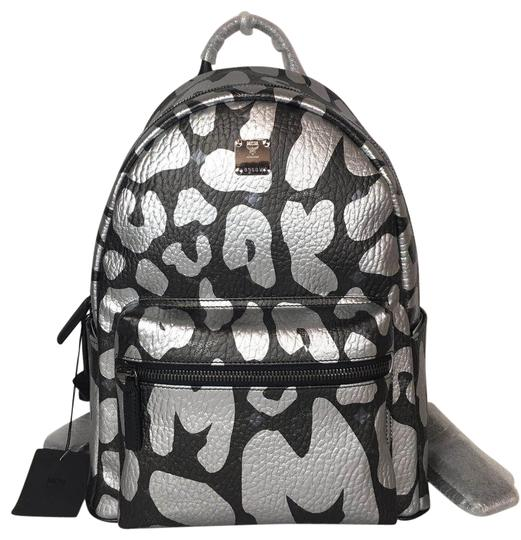 Preload https://img-static.tradesy.com/item/25460985/mcm-sm-leopard-print-black-backpack-0-1-540-540.jpg