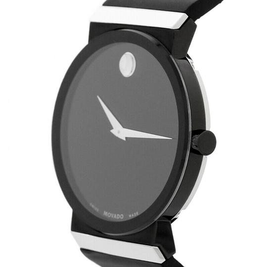 Movado Movado Men's Sapphire Synergy Black Rubber Watch 0606780 Image 2
