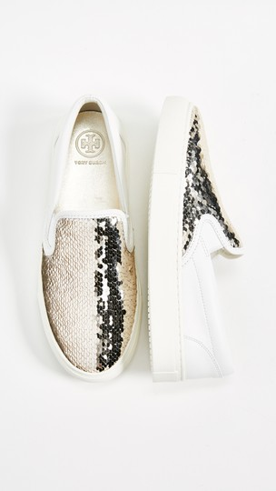 Tory Burch Sequin Casual Sneaker Work Sparkly Athletic Image 1