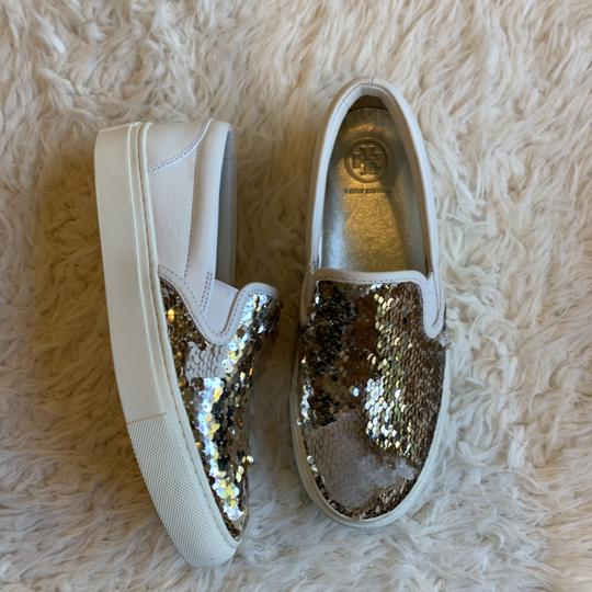Tory Burch Sequin Casual Sneaker Work Sparkly Athletic Image 5