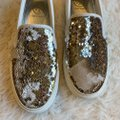 Tory Burch Sequin Casual Sneaker Work Sparkly Athletic Image 7