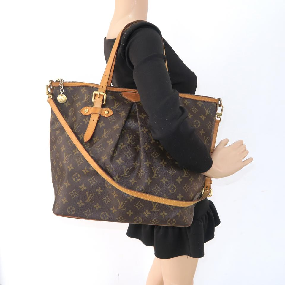 cc944a33c4 Louis Vuitton Palermo Gm Brown Monogram Canvas Satchel - Tradesy