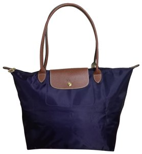 f5dbd6ecfe Longchamp Excellent Lightweight Folding Waterproof Tote in Bilberry  645