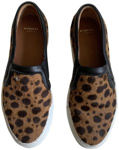Givenchy Leopard Slip On Casual Sneaker Brown Athletic
