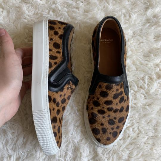Givenchy Leopard Slip On Casual Sneaker Brown Athletic Image 5