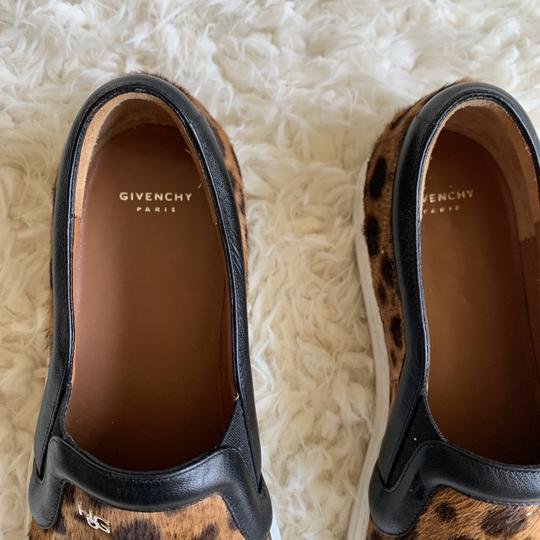 Givenchy Leopard Slip On Casual Sneaker Brown Athletic Image 6
