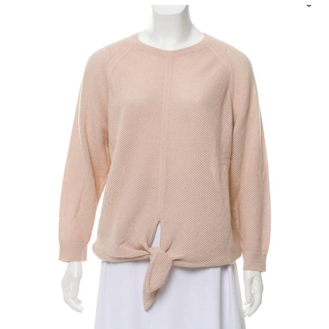 Preload https://img-static.tradesy.com/item/25461303/vanessa-bruno-soft-cozy-knotted-cashmerewool-peachpink-sweater-0-0-650-650.jpg