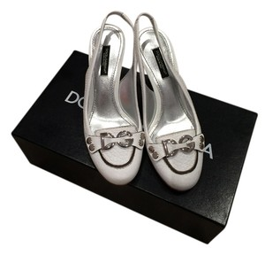 Dolce&Gabbana Leather white Sandals