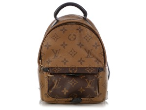 Louis Vuitton Lv.q0417.10 Small Gold Hardware Tan Backpack