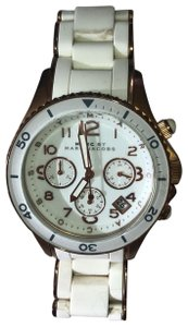 Marc by Marc Jacobs Marc Jacobs Ladies White Chronograph Watch