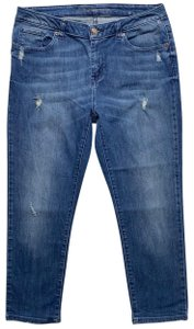 Michael Kors Capri/Cropped Denim-Medium Wash