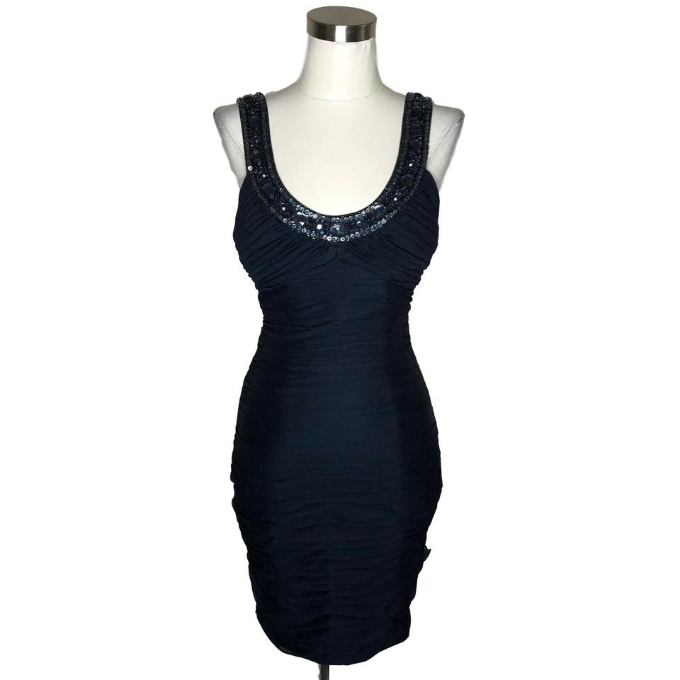 ede9db4b Cache Blue XS N803 Designer Sequin Bodycon Sleeveless Night Out Dress. Size:  2 ...