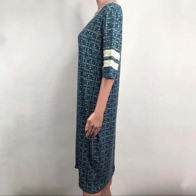 LuLaRoe short dress Blue/Green on Tradesy Image 1