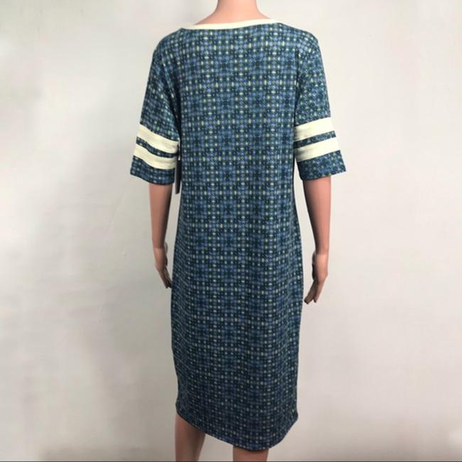 LuLaRoe short dress Blue/Green on Tradesy Image 2