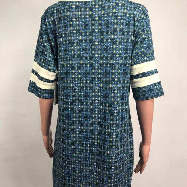 LuLaRoe short dress Blue/Green on Tradesy Image 3