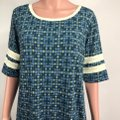 LuLaRoe short dress Blue/Green on Tradesy Image 4
