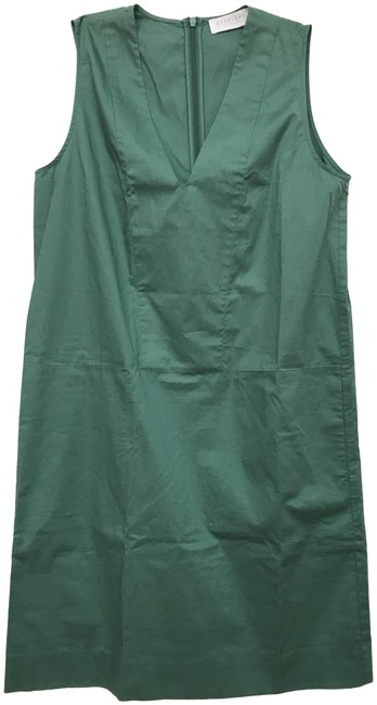 Preload https://img-static.tradesy.com/item/25462003/everlane-forset-green-the-clean-cotton-v-neck-mid-length-cocktail-dress-size-2-xs-0-1-650-650.jpg