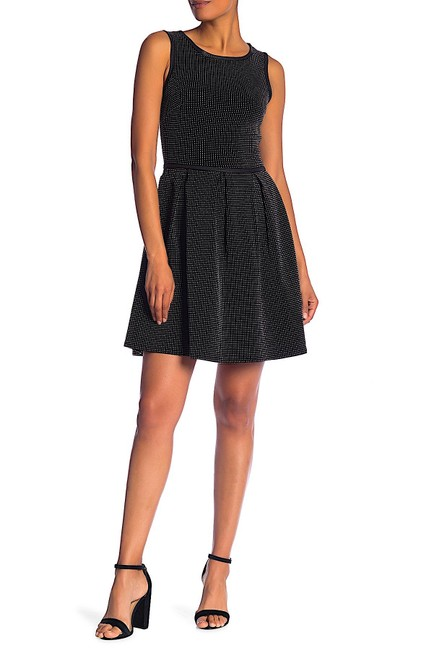 Preload https://img-static.tradesy.com/item/25462021/max-studio-black-with-tag-pin-dot-sleeveless-short-cocktail-dress-size-2-xs-0-0-650-650.jpg