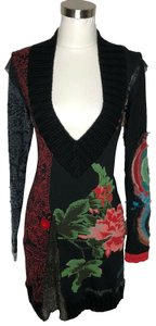 DESIGUAL short dress Black on Tradesy