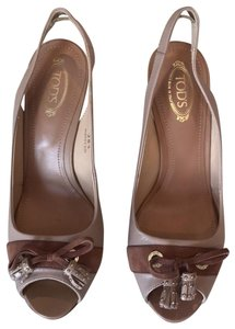 Tod's nude Sandals