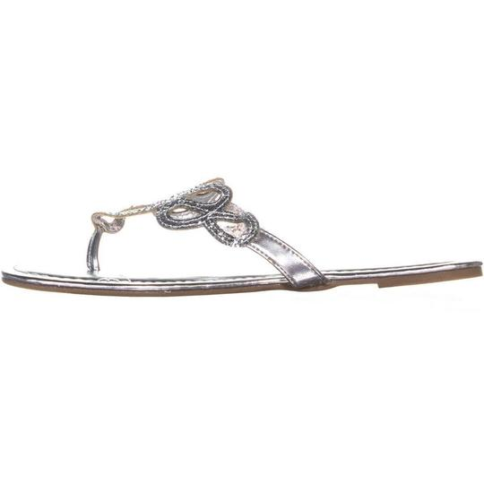 Rampage Silver Sandals Image 1