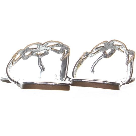 Rampage Silver Sandals Image 4