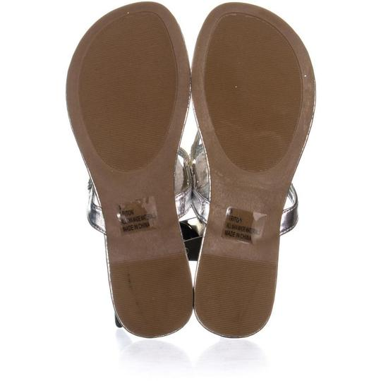 Rampage Silver Sandals Image 5