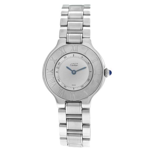 Preload https://img-static.tradesy.com/item/25462211/cartier-silver-ladies-must-de-1340-quartz-stainless-steel-watch-0-0-540-540.jpg