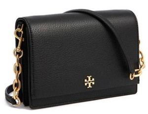 Tory Burch Leather Flap Chain Cross Body Bag