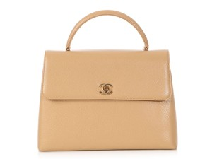Chanel Chanel Trendy CC Coco Handle Classic Flap Bag Beige Nude Kelly
