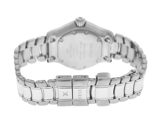 Ebel Authentic Ladies Ebel Discovery 9087321 Steel 30MM Quartz Date Watch Image 5
