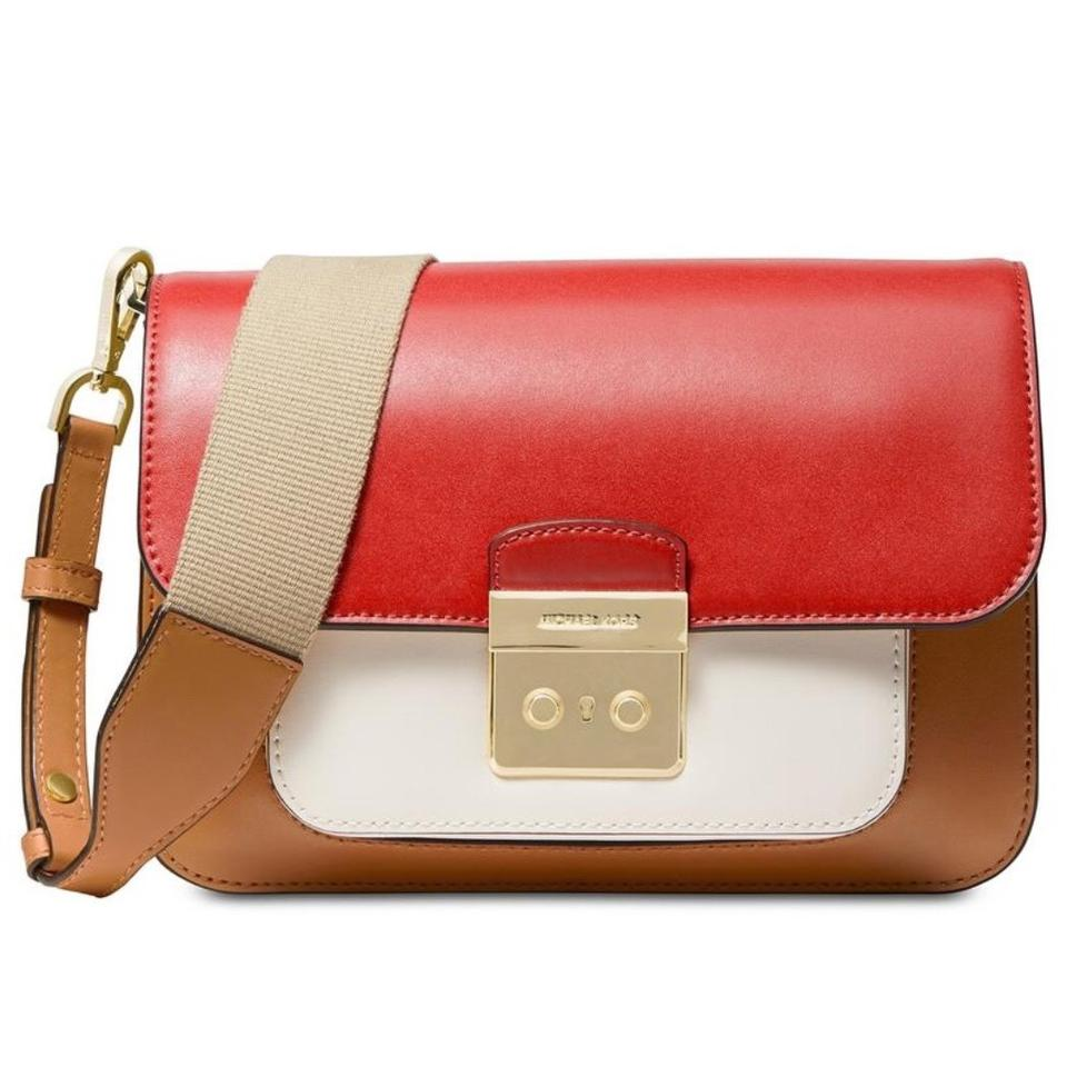 Sloan Edition Acorn Shoulder Colorblock Leather Michael Multi Bag Kors CshxBQrtd