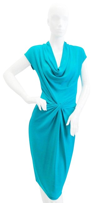 Preload https://img-static.tradesy.com/item/25462411/michael-kors-turquoise-jersey-cowlneck-mid-length-workoffice-dress-size-6-s-0-1-650-650.jpg