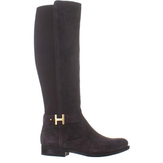 TOmmy Hilfiger Grey Boots Image 3