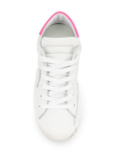Philippe Model Sneakers Sneakers Ggdb Sneakers Common Projects White & Pink Athletic Image 1